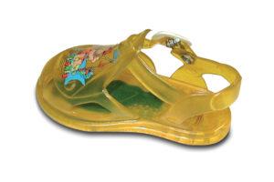 Sandaletto giallo PVC